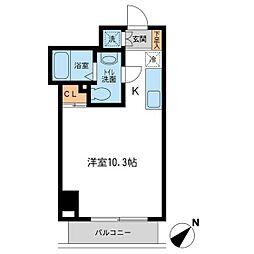 アーバンパーク新横浜[1011号室]の間取り