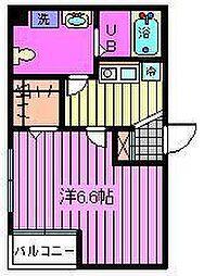 サンフラワーIII[2階]の間取り