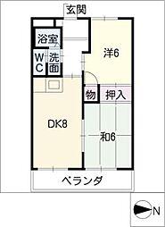 PARK HOUSE MT[3階]の間取り