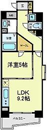 サージュ天王寺[2階]の間取り