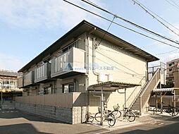 大阪府東大阪市箕輪1丁目の賃貸アパートの外観
