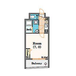 第IIマンション アトラス[6階]の間取り