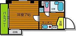 マンションJIN[5階]の間取り