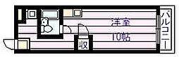 OMレジデンス 柏原II[3階]の間取り