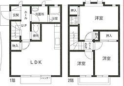 [タウンハウス] 神奈川県横浜市中区本牧元町 の賃貸【/】の間取り