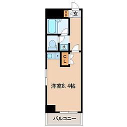 日宝プロシード[4階]の間取り