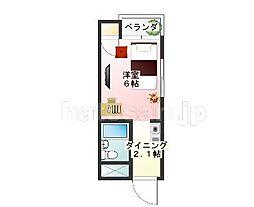 01297−0201[2階]の間取り
