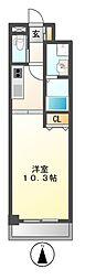 ドゥナーレ畑江通[7階]の間取り