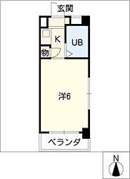 DOLL八事富士見[1階]の間取り