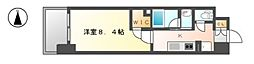 エルスタンザ黒川[2階]の間取り