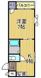 シリングコート[1階]の間取り