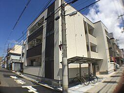 大阪府大阪市平野区平野西1丁目の賃貸アパートの外観