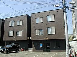 北海道札幌市南区澄川三条2丁目の賃貸アパートの外観