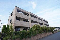 茨城県つくばみらい市陽光台2丁目の賃貸マンションの外観