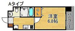 FDS Fiore[5階]の間取り