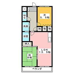 コットンハウス平針[2階]の間取り