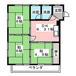 観音寺駅 3.3万円