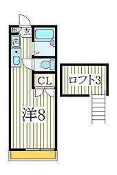 フローレンス南青山[2階]の間取り