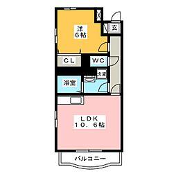 フィールドコート ステラ[2階]の間取り