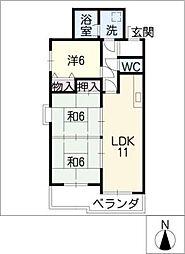 レグノ・アレッタ[6階]の間取り