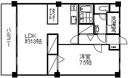 レジデンス近江[1階]の間取り