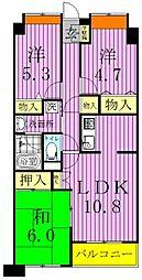 仮称)加賀マンション[2階]の間取り