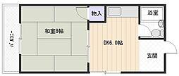 グリーンマンション(安中町)[2階]の間取り