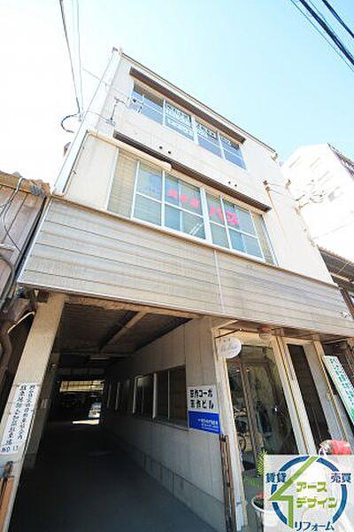 京作コーポ[2階]の外観