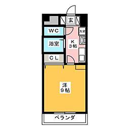 知立ガーデンパレス[1階]の間取り