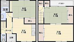 [タウンハウス] 大阪府柏原市玉手町 の賃貸【/】の間取り