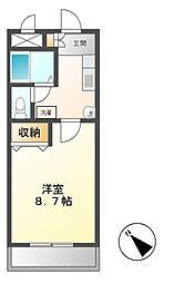 愛知県名古屋市緑区東神の倉2丁目の賃貸マンションの間取り