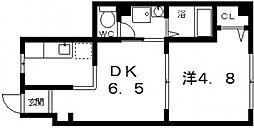 天川ビル[3階]の間取り