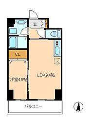 (仮)八州ビル 新築工事[9階]の間取り