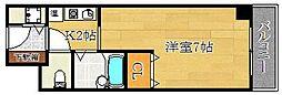 エクセレントライフK[3階]の間取り