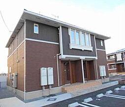 岡山県岡山市北区小山の賃貸アパートの外観