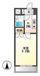 アーバンホーム2[4階]の間取り