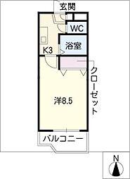 ドリーム大山田[1階]の間取り