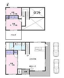 [一戸建] 埼玉県さいたま市緑区大字中尾 の賃貸【/】の間取り