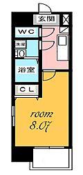 ArtizA千代田[9階]の間取り