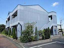 埼玉県比企郡嵐山町むさし台1の賃貸アパートの外観