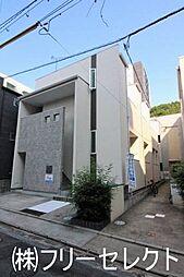 福岡県福岡市博多区千代1丁目の賃貸アパートの外観