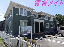 三重県伊勢市辻久留町の賃貸アパートの外観
