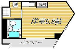 bloom桜新町[3階]の間取り