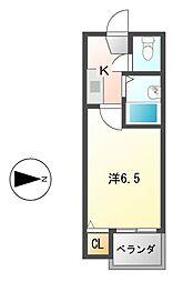 DHマンション[4階]の間取り
