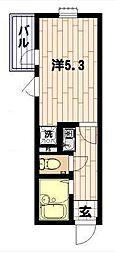 リブ 町屋[2階]の間取り