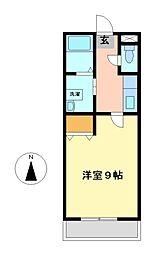 ブリーゼサヤカ[1階]の間取り