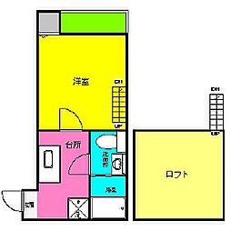 VIDA大同[2階]の間取り