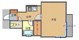 長崎県長崎市本石灰町の賃貸マンションの間取り