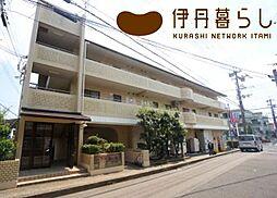 兵庫県伊丹市桜ケ丘8丁目の賃貸マンションの外観
