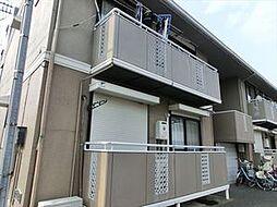 マルカワハイツA[1階]の外観